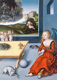 Melancholy, 1532 by Lucas Cranach | Painting Reproduction
