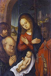 The Adoration of the Kings | Lucas Cranach | Painting Reproduction