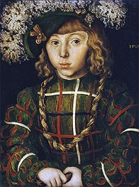 Portrait of Johann Friedrich the Magnanimous | Lucas Cranach | Gemälde Reproduktion