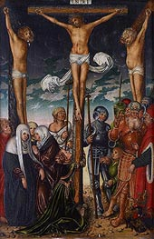 The Crucifixion | Lucas Cranach | Gemälde Reproduktion