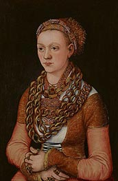 Portrait of Anna Buchner | Lucas Cranach | Painting Reproduction