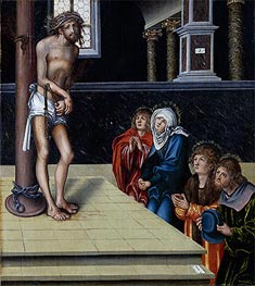 Christ at the Column | Lucas Cranach | Painting Reproduction