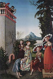 David and Bathsheba | Lucas Cranach | Painting Reproduction