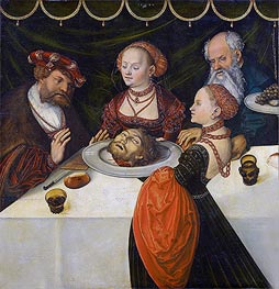 Herod's Banquet | Lucas Cranach | Painting Reproduction