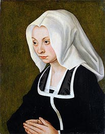 Portrait of a Woman, c.1508 von Lucas Cranach | Gemälde-Reproduktion