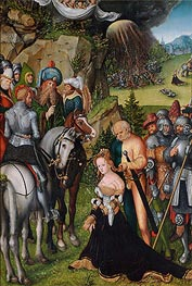 The Beheading of St Catherine | Lucas Cranach | Painting Reproduction