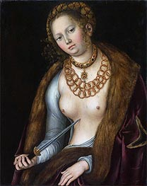 Lucretia | Lucas Cranach | Painting Reproduction