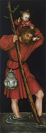 Saint Christopher | Lucas Cranach | Painting Reproduction