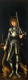 Saint George | Lucas Cranach | Painting Reproduction