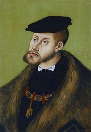 Emperor Charles V | Lucas Cranach | Painting Reproduction