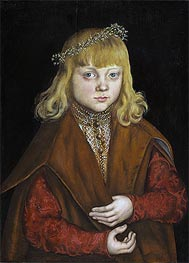 A Prince of Saxony | Lucas Cranach | Painting Reproduction