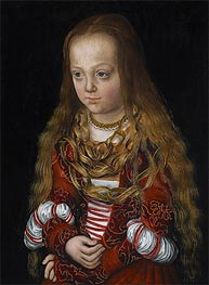 A Princess of Saxony | Lucas Cranach | Painting Reproduction