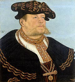 Portrait of the Chancellor Gregor Bruck | Lucas Cranach | Painting Reproduction