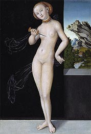 Lucretia, 1528 by Lucas Cranach | Painting Reproduction