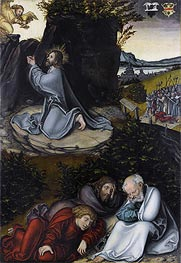 Agony in the Garden | Lucas Cranach | Painting Reproduction