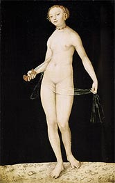 Lucretia, 1533 by Lucas Cranach | Painting Reproduction