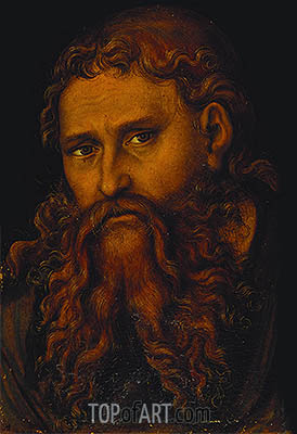 Christ, undated | Lucas Cranach | Painting Reproduction