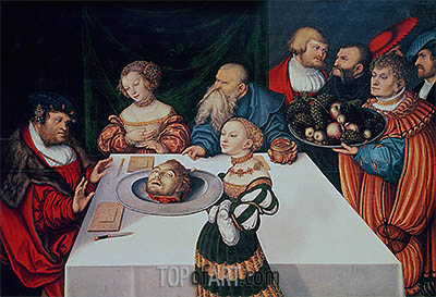 The Feast of Herod, 1531 | Lucas Cranach | Painting Reproduction