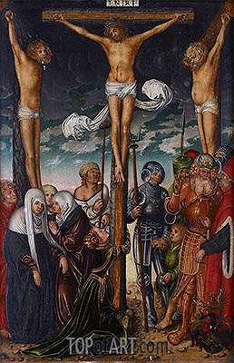 The Crucifixion, undated | Lucas Cranach | Painting Reproduction