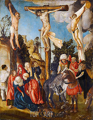 The Crucifixion of Christ, 1501 | Lucas Cranach | Painting Reproduction
