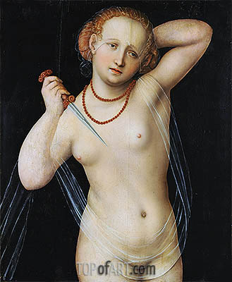 Lucretia, c.1525 | Lucas Cranach | Painting Reproduction