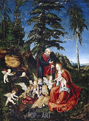 Rest on the Flight into Egypt, 1504 | Lucas Cranach | Painting Reproduction