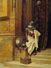 The Palace Guard | Ludwig Deutsch | Painting Reproduction