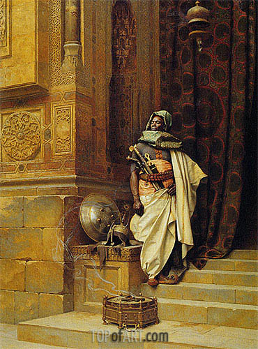 The Palace Guard, 1900 | Ludwig Deutsch | Painting Reproduction