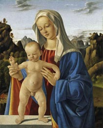 Madonna with Child, c.1500 von Marco Basaiti | Gemälde-Reproduktion