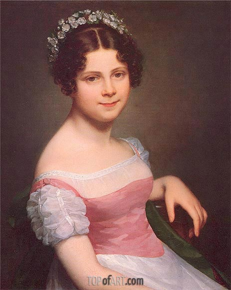 Sophie Fanny Lordon, 1820 | Mayer-Lamartiniere | Painting Reproduction