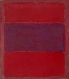 No. 301 (Reds and Violet over Red) | Mark Rothko | Painting Reproduction
