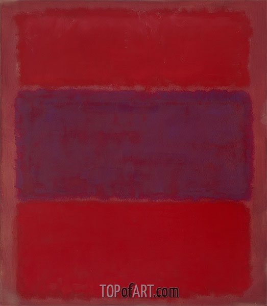 No. 301 (reds and violet over red), 1959 | Mark Rothko | Gemälde Reproduktion