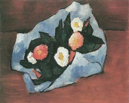 Wild Roses, 1942 by Marsden Hartley | Painting Reproduction