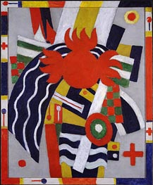 The Aero, 1914 von Marsden Hartley | Gemälde-Reproduktion