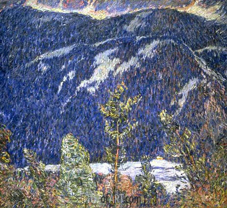 The Summer Camp, Blue Mountain, c.1909 | Marsden Hartley | Painting Reproduction