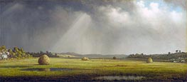Newburyport Meadows, c.1876/81 by Martin Johnson Heade | Painting Reproduction