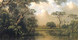 The Great Florida Marsh, 1886 by Martin Johnson Heade | Painting Reproduction