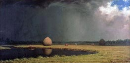 Salt Marsh Hay, c.1865 by Martin Johnson Heade | Painting Reproduction