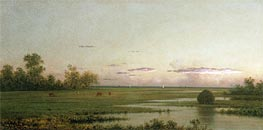 Salt Marsh at Southport, Connecticut, c.1875/81 by Martin Johnson Heade | Painting Reproduction