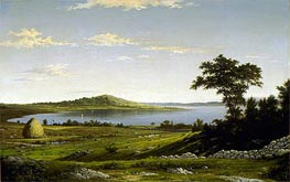 Rhode Island Shore, 1858 by Martin Johnson Heade | Painting Reproduction