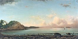 Singing Beach, Manchester, 1862 by Martin Johnson Heade | Painting Reproduction