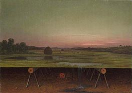 Gremlin in the Studio II | Martin Johnson Heade | Gemälde Reproduktion