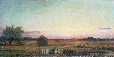 Jersey Meadows, Undated | Martin Johnson Heade | Painting Reproduction