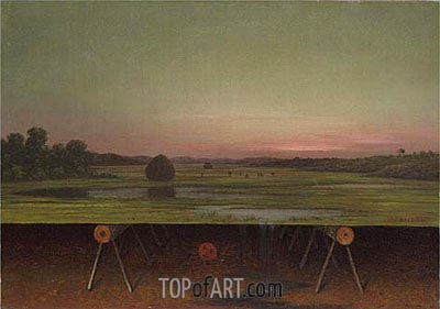 Gremlin in the Studio II, c.1865/75 | Martin Johnson Heade | Painting Reproduction