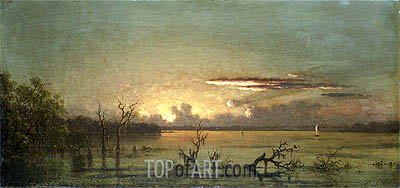 Twilight on the St. John's RIver, undated | Martin Johnson Heade | Painting Reproduction
