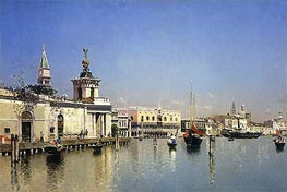 A View of Venice | Martin Rico y Ortega | Painting Reproduction