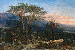 A Landscape of Guadarrama | Martin Rico y Ortega | Painting Reproduction