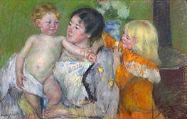 After the Bath | Cassatt | Painting Reproduction