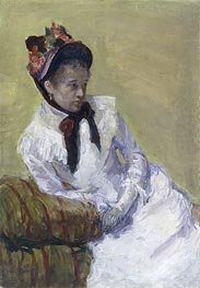 Self Portrait | Cassatt | Painting Reproduction