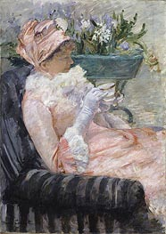The Cup of Tea, c.1880/81 von Cassatt | Gemälde-Reproduktion
